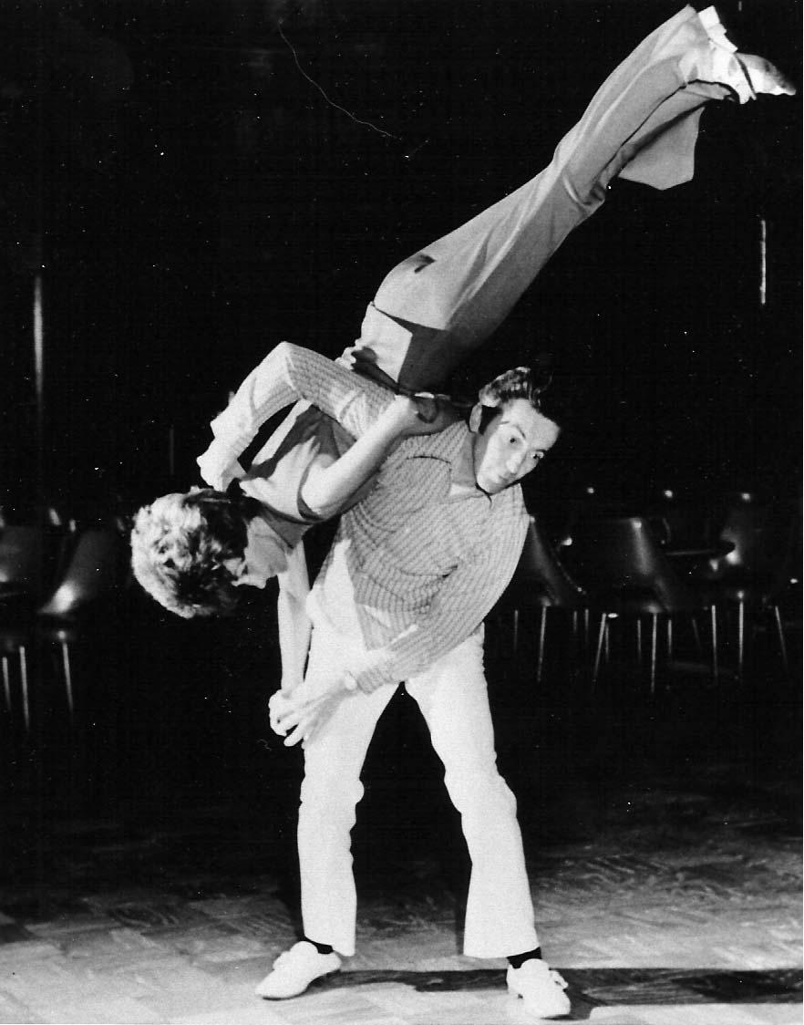 Old Fashioned Shag Dance